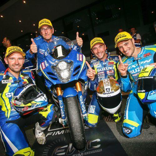 Suzuki alcança 15.º título no campeonato do mundo de resistência