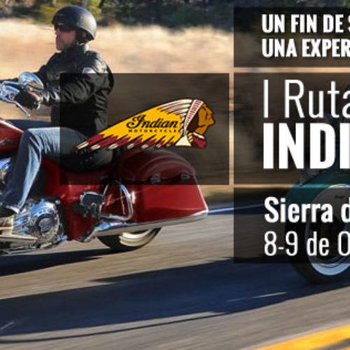 Polaris Espanha organiza rota exclusiva Victory e Indian Motorcycle