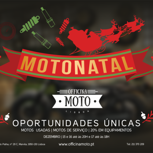 Motonatal entre 15 e 17 de dezembro em Lisboa, Aveiro e Porto
