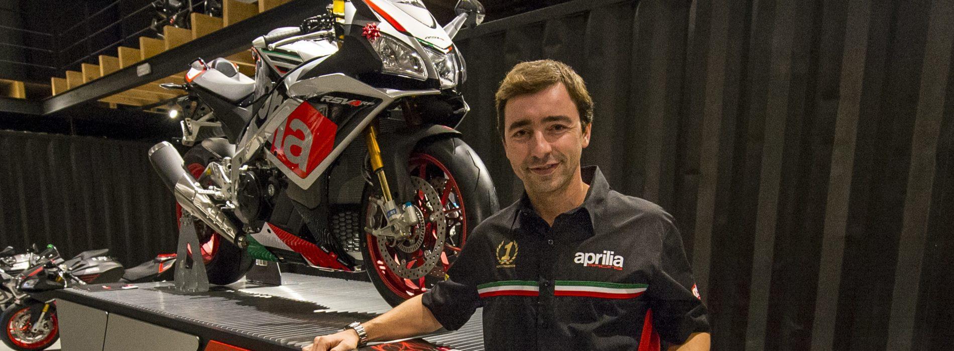 Aprilia presente no CNV Moto com Tiago Magalhães