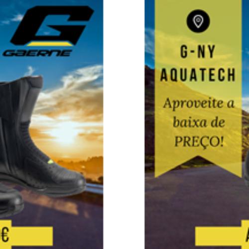 Gaerne G-Hybrid Gore-Tex/Gaerne G-Ny Aquatech