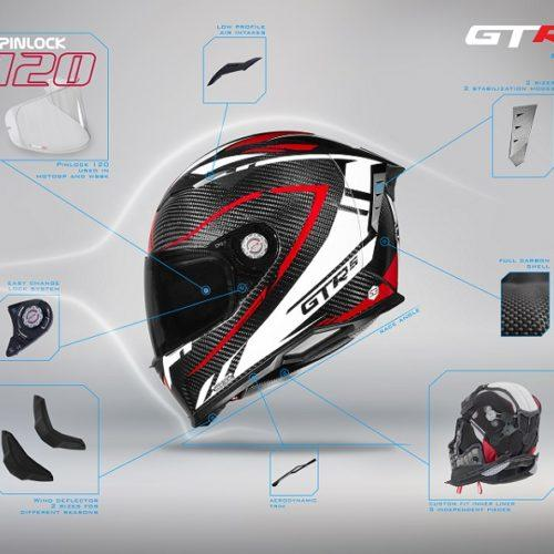 CMS Helmets: Este é o capacete GTRS 2.0