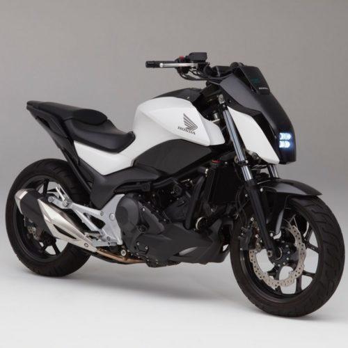 Honda revela moto que se mantém de pé sozinha