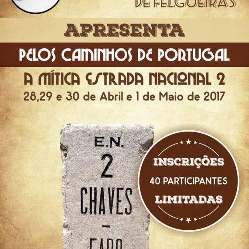 Vespa Vintage de Felgueiras apresenta mítica Estrada Nacional 2