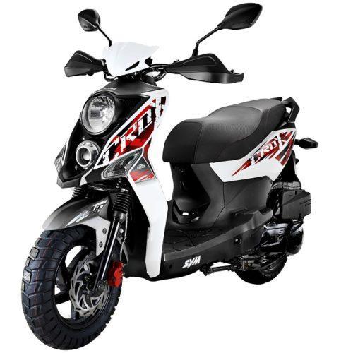 Novo modelo SYM Crox 50 já chegou ao mercado nacional