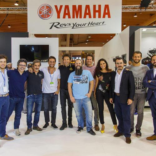 Evento inovador da Yamaha no Lisboa MotoShow