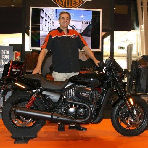 Harley-Davidson Portugal apresentou a nova Street Rod no Lisboa MotoShow