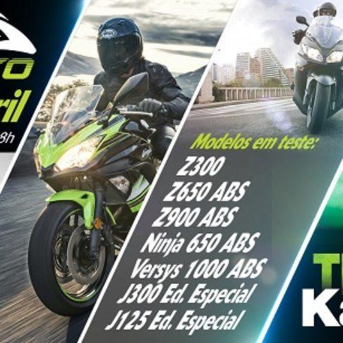 Kawasaki Lisboa terá disponível várias motos para Test Ride