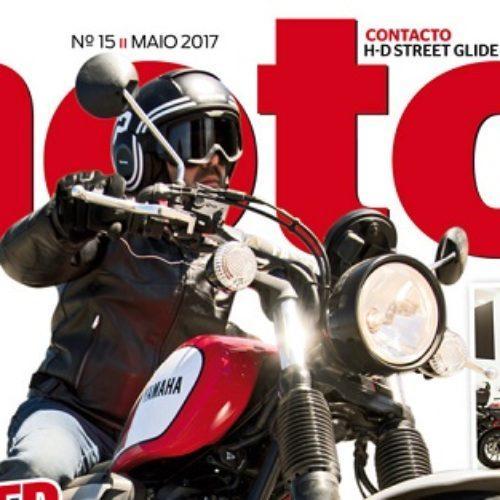Já chegou às bancas a edição de maio da revista 'Motos'