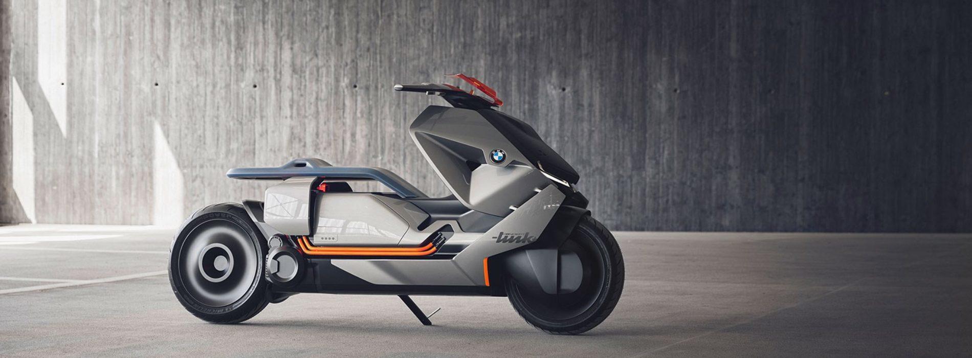 Concept Link: a nova moto BMW elétrica do futuro
