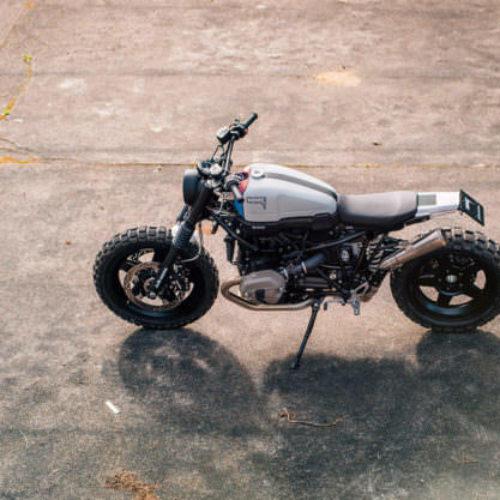 BMW R NineT Scrambler: uma moto criada por Jens vom Brauck