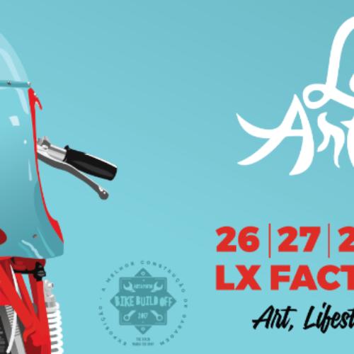 Lisboa Art & Moto com 5.ª edição a realizar-se entre 26 e 28 de maio