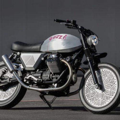 Tomoto: uma moto Guzzi V7 criada por Tom Dixon