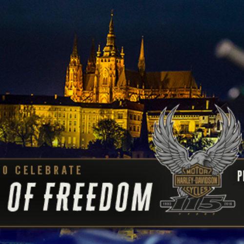 Harley-Davidon celebra 115.º aniversário em Praga