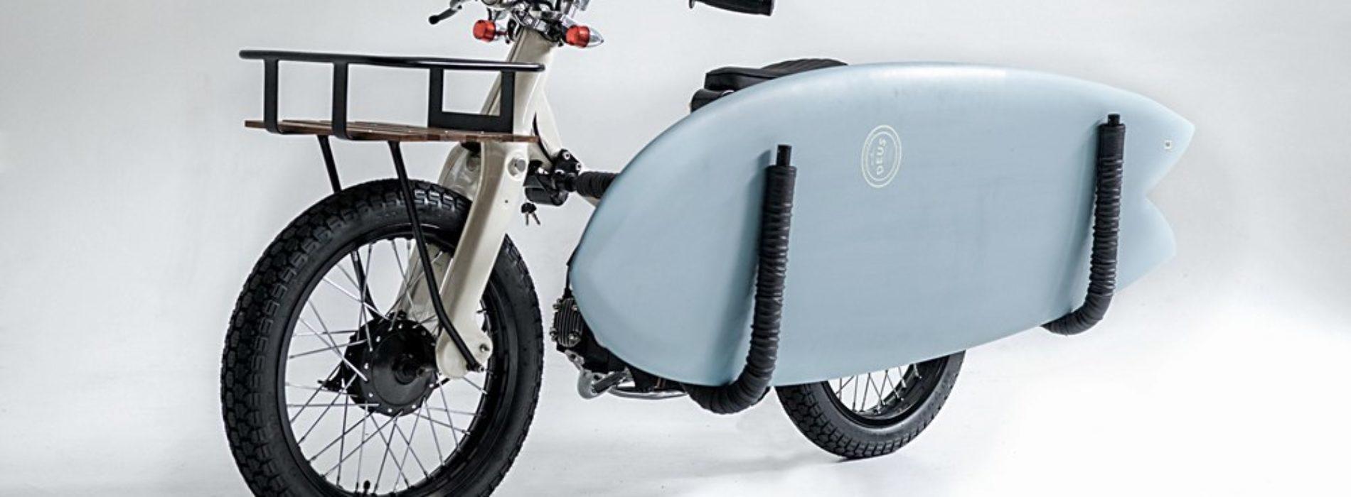 Sea Sider: a moto que transporta a sua… prancha de surf