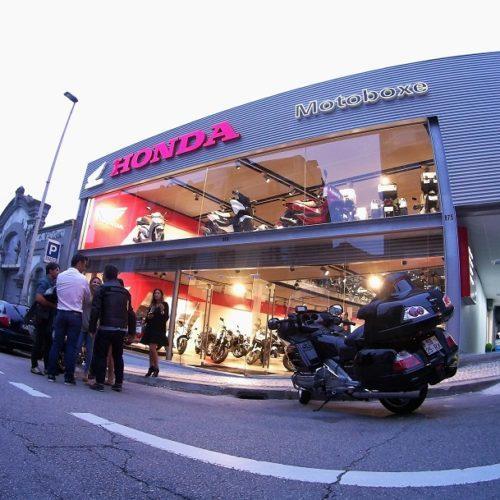 Novas instalações Motoboxe