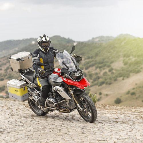 Hertz Ride é lançada em França para os entusiastas aventureiros de duas rodas
