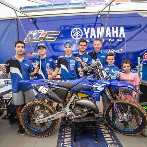 Comitiva portuguesa visita equipas Yamaha no Mundial de MX