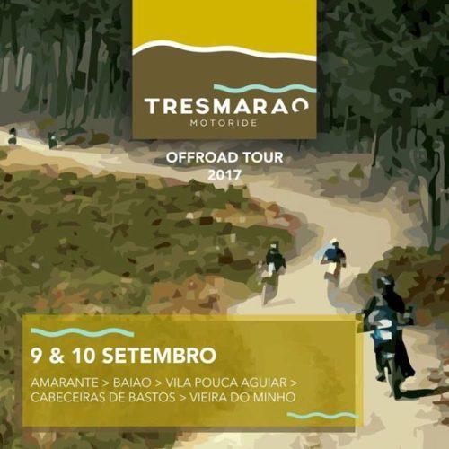Quarta edição do Tresmarão Motoride arranca no fim de semana de 9 e 10 de setembro