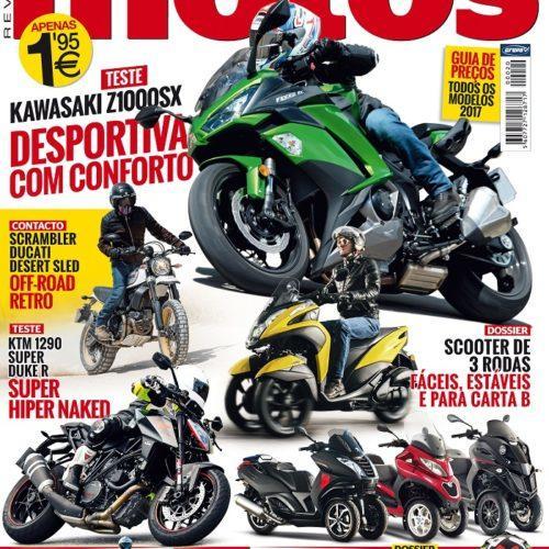 Edição de outubro da revista 'Motos' já chegou às bancas