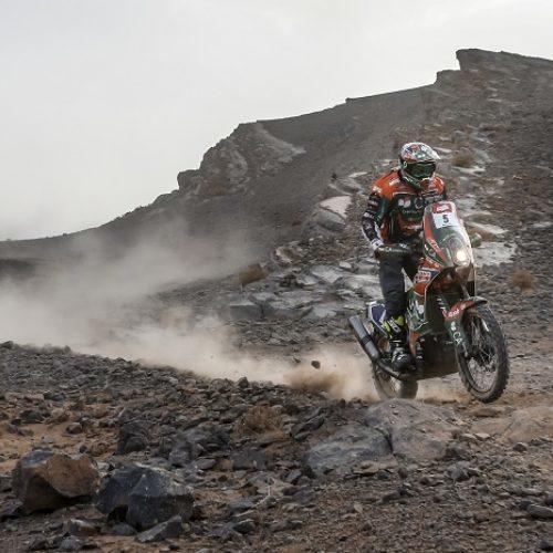 Mário Patrão mantém 5.º lugar no PanAfrica Rally