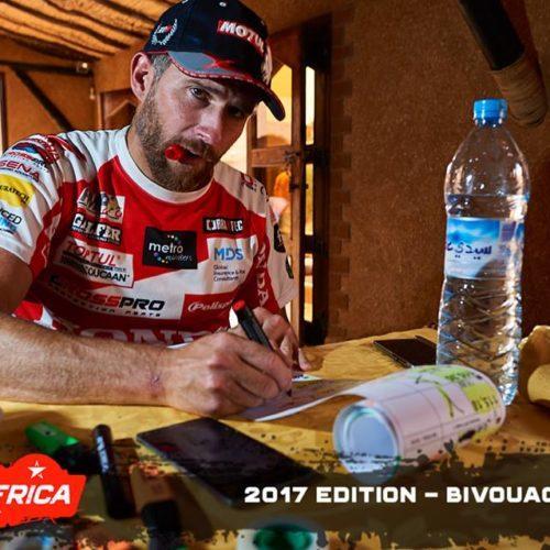 PanAfrica Rally | Pedro Bianchi Prata confirma liderança na classe