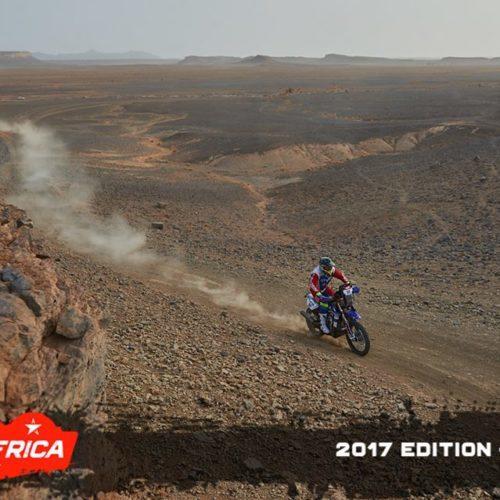 Sebastian Bühler (Yamaha) em 6.º lugar no PanAfrica Rally