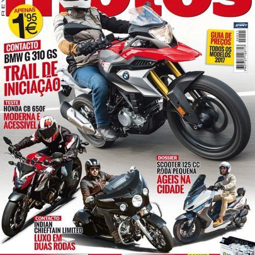 Edição de novembro da revista 'Motos' já chegou às bancas