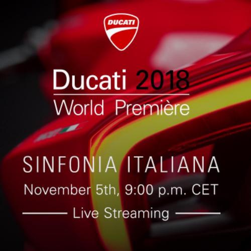 Ducati World Première 2018 com transmissão em direto este domingo