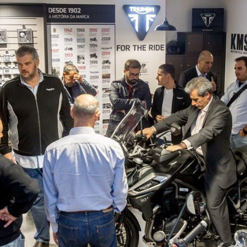 [VÍDEO] O arranque do Tiger Tour na nova Triumph Lisboa World Store