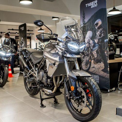 [FOTOS] Triumph Lisboa World Store recebeu arranque do Tiger Tour