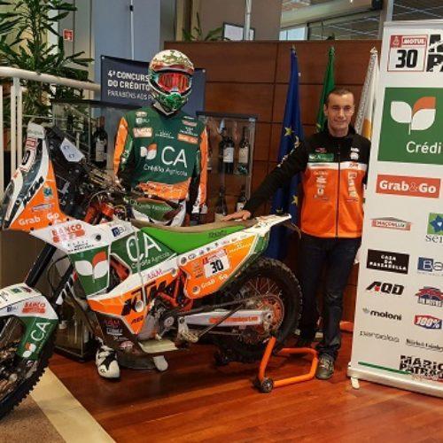 Mário Patrão piloto oficial KTM no Dakar 2018