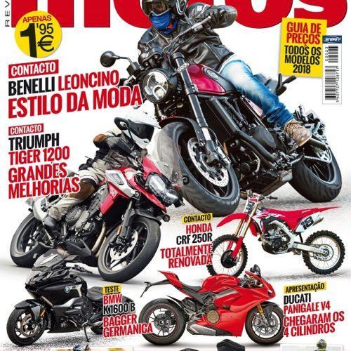 Feliz 2018! Revista 'Motos' já tem a edição de janeiro nas bancas
