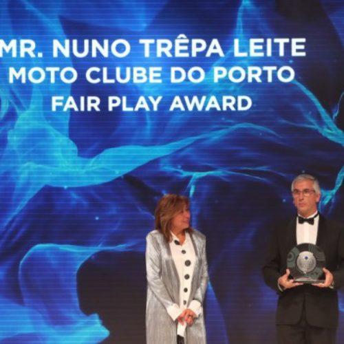 Moto Clube do Porto recebe distinção na gala da Federação Internacional de Motociclismo