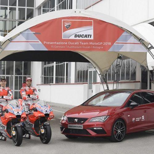 Ducati e SEAT renovam acordo de colaboração para o mundial de MotoGP