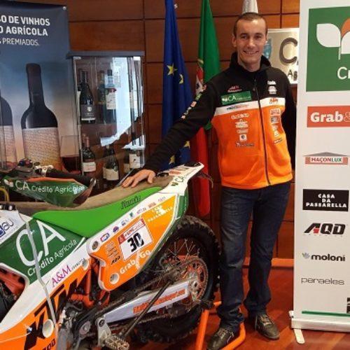 Mário Patrão não vai estar à partida do Dakar 2018