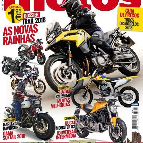 Edição de fevereiro da revista 'Motos' está nas bancas