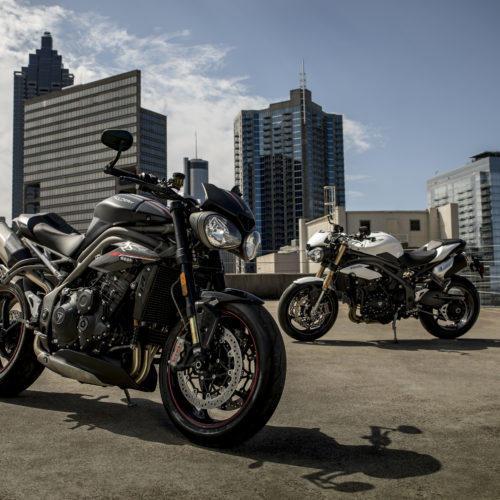 Eis as novas Triumph Speed Triple S & RS