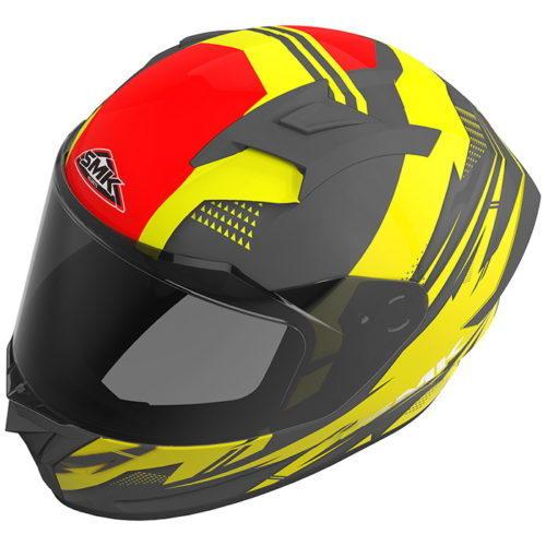 Este é o novo capacete integral SMK Stellar