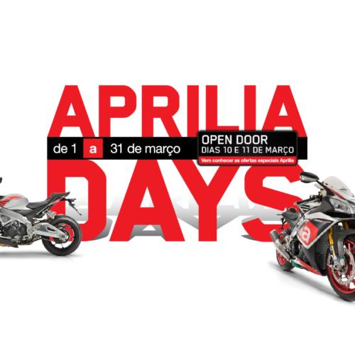 Aprilia aposta forte nos Aprilia Days