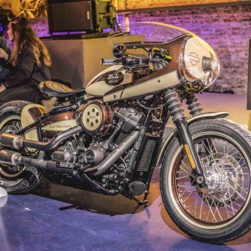 Battle of the Kings 2018 elege Street Bob personalizada pela Harley-Davidson Tarraco