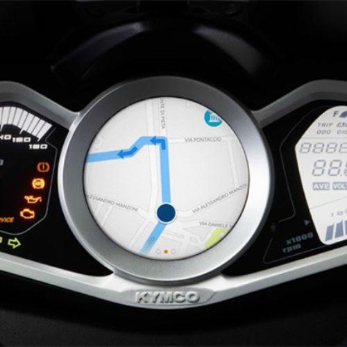 Novo GPS para motos Kymco