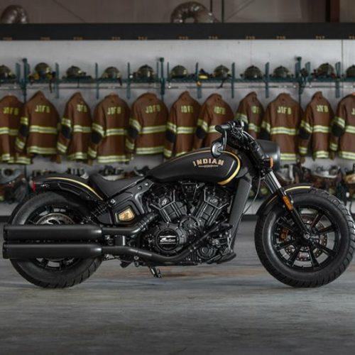 Série especial Jack Daniels da Scout Bobbers da Indian Motorcycle
