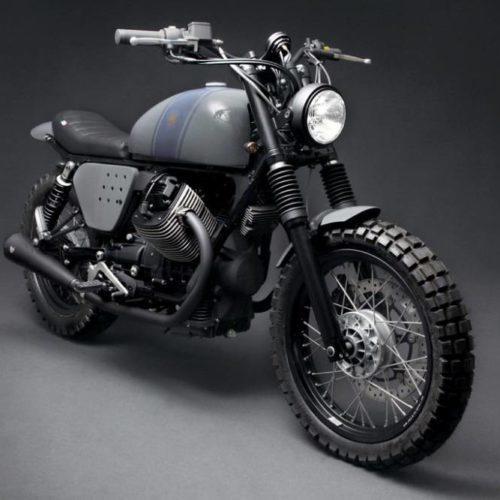 Tractor 05 é Moto Guzzi V7 customizada