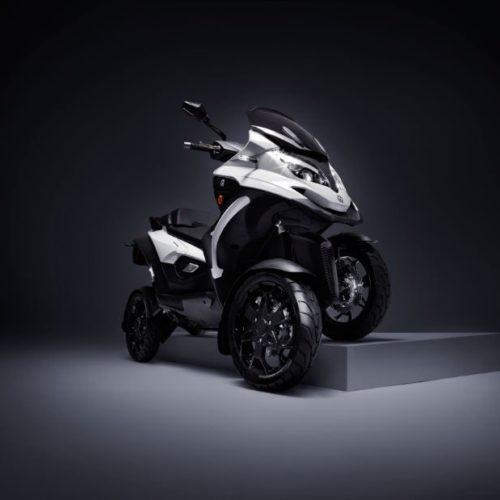 E-Qooder é quadriciclo elétrico