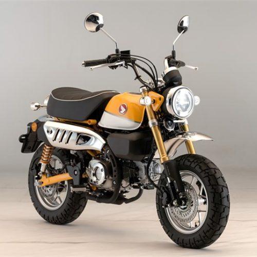 Honda reinventa a Monkey a partir do modelo original