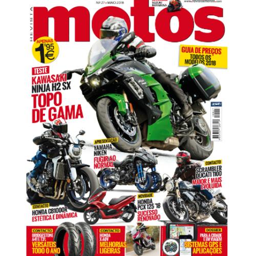 Revista Motos de maio já está nas bancas!
