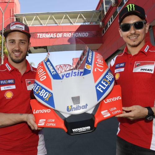 Lenovo é parceiro tecnológico da Ducati