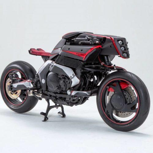 JSK Moto mostra preparação com base numa Yamaha GTS 1000