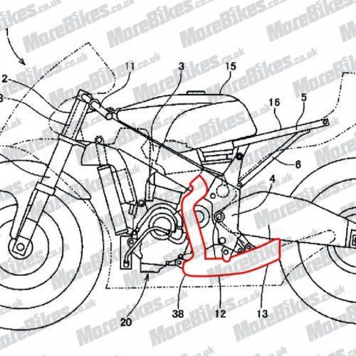 A curiosa Honda do motor invertido